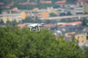 Il drone in volo