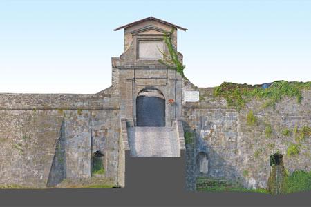 Le mura in 3D